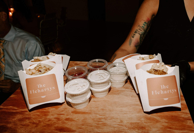late night wedding fries