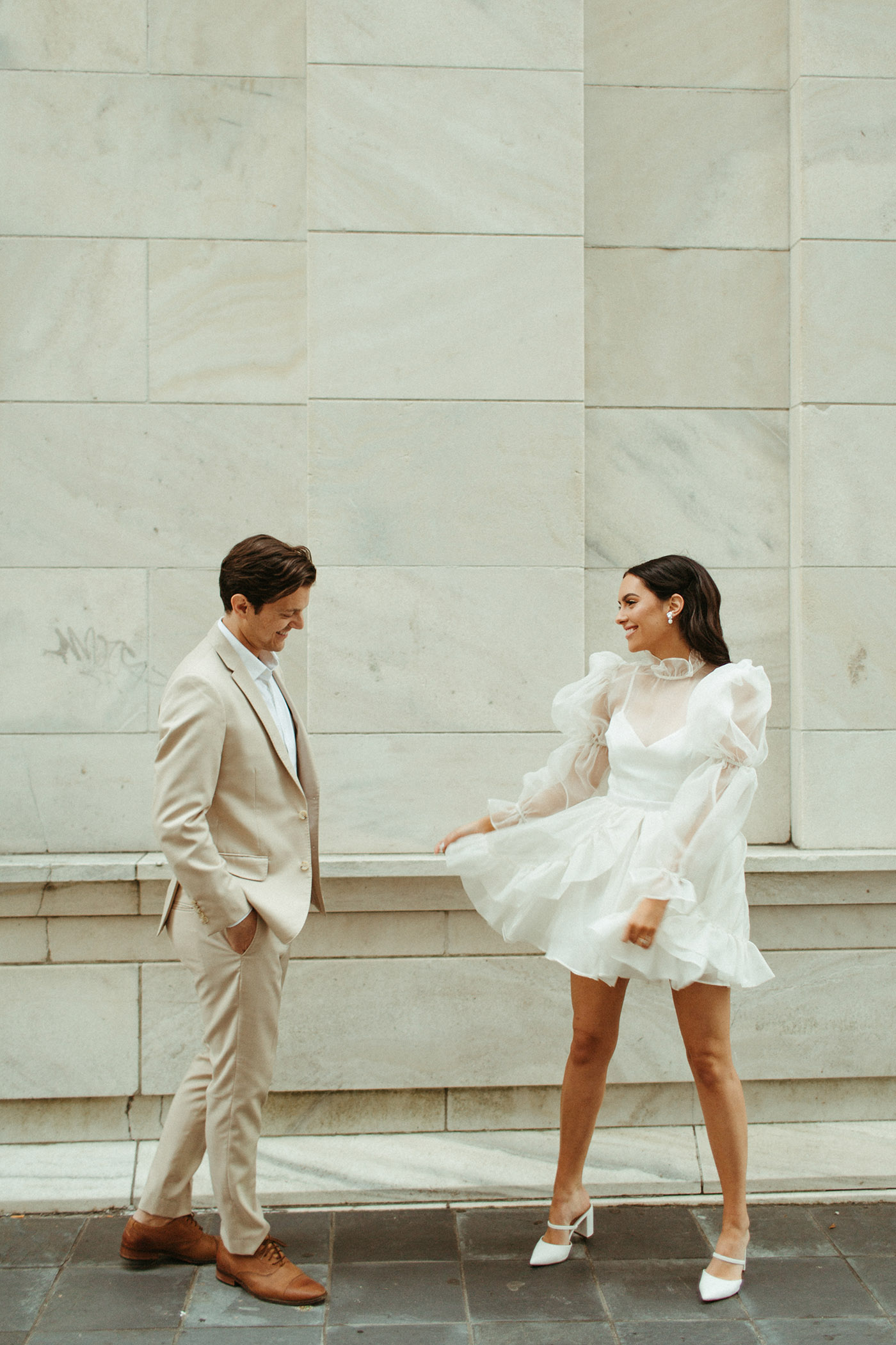 First Look for an Elopement