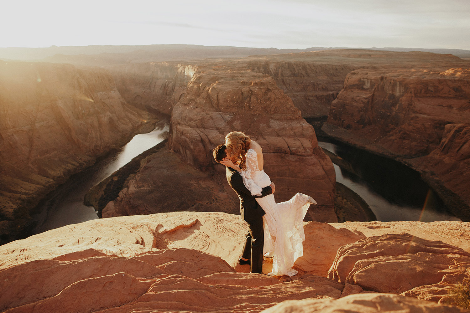 Horseshoe arch elopement