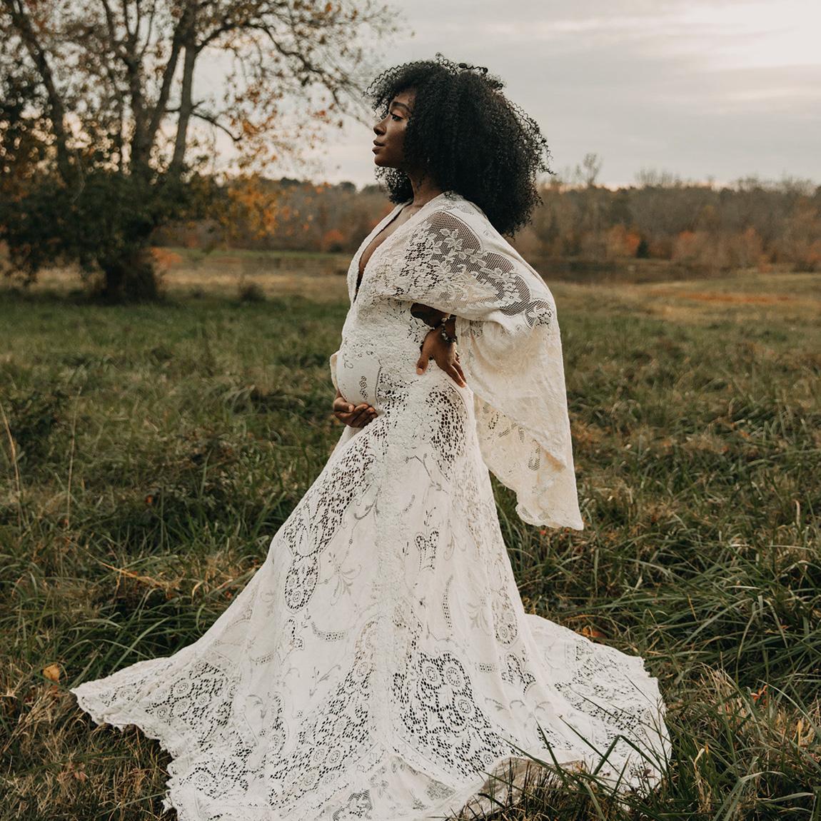 Maternity Wedding Dresses for Pregnant Brides