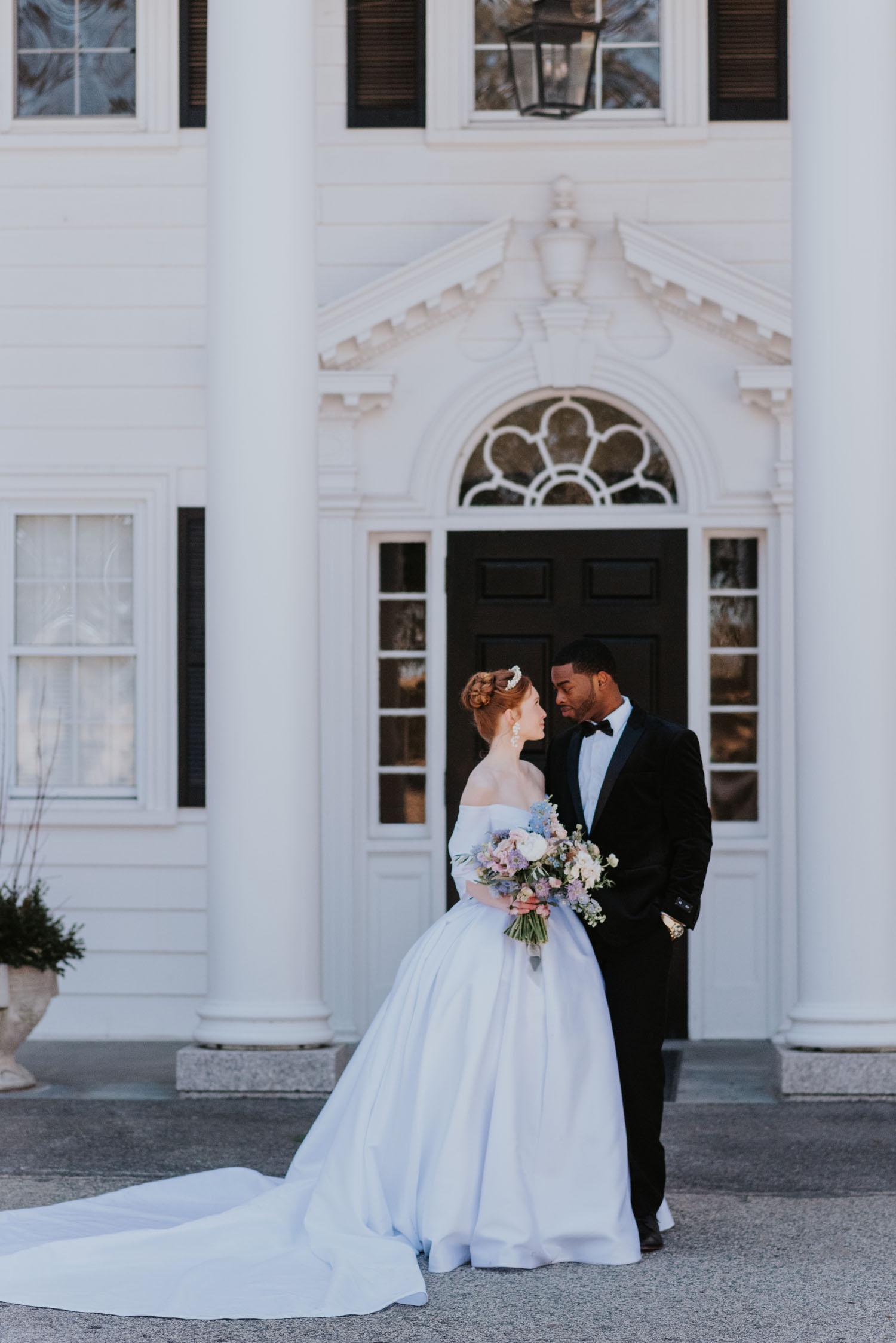 Bridgerton-themed wedding