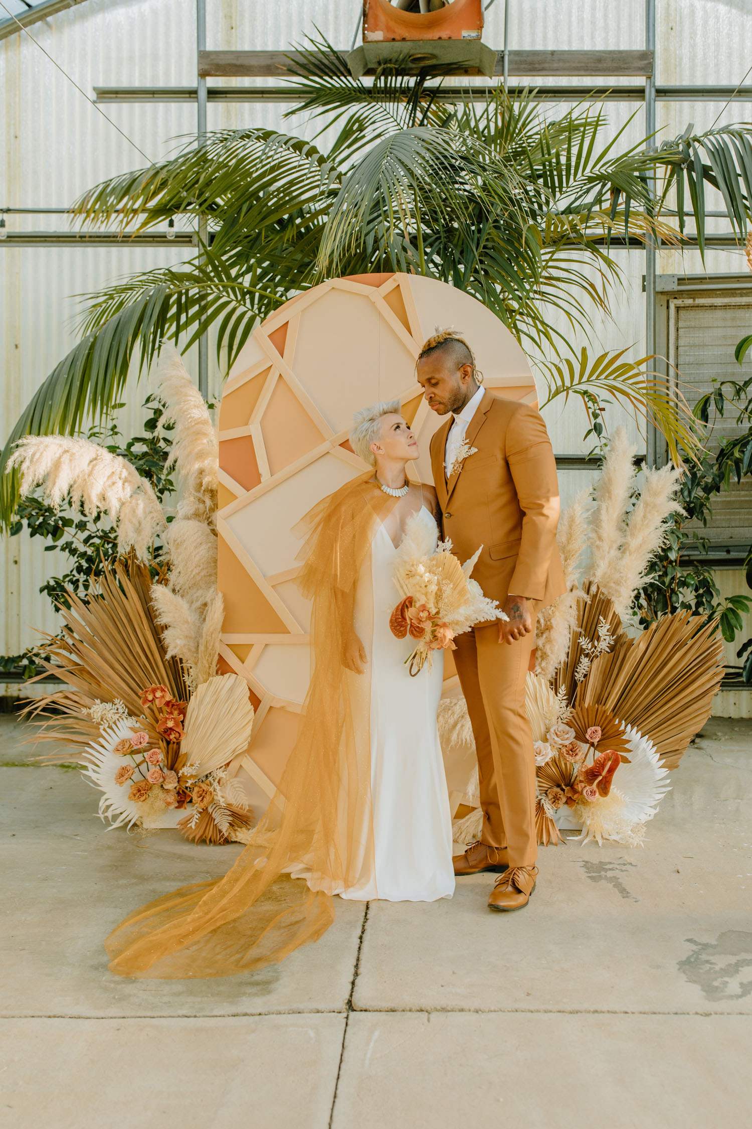 Spectacular Spring Wedding Colors at This Stunning Tulum- Inspired Greenhouse