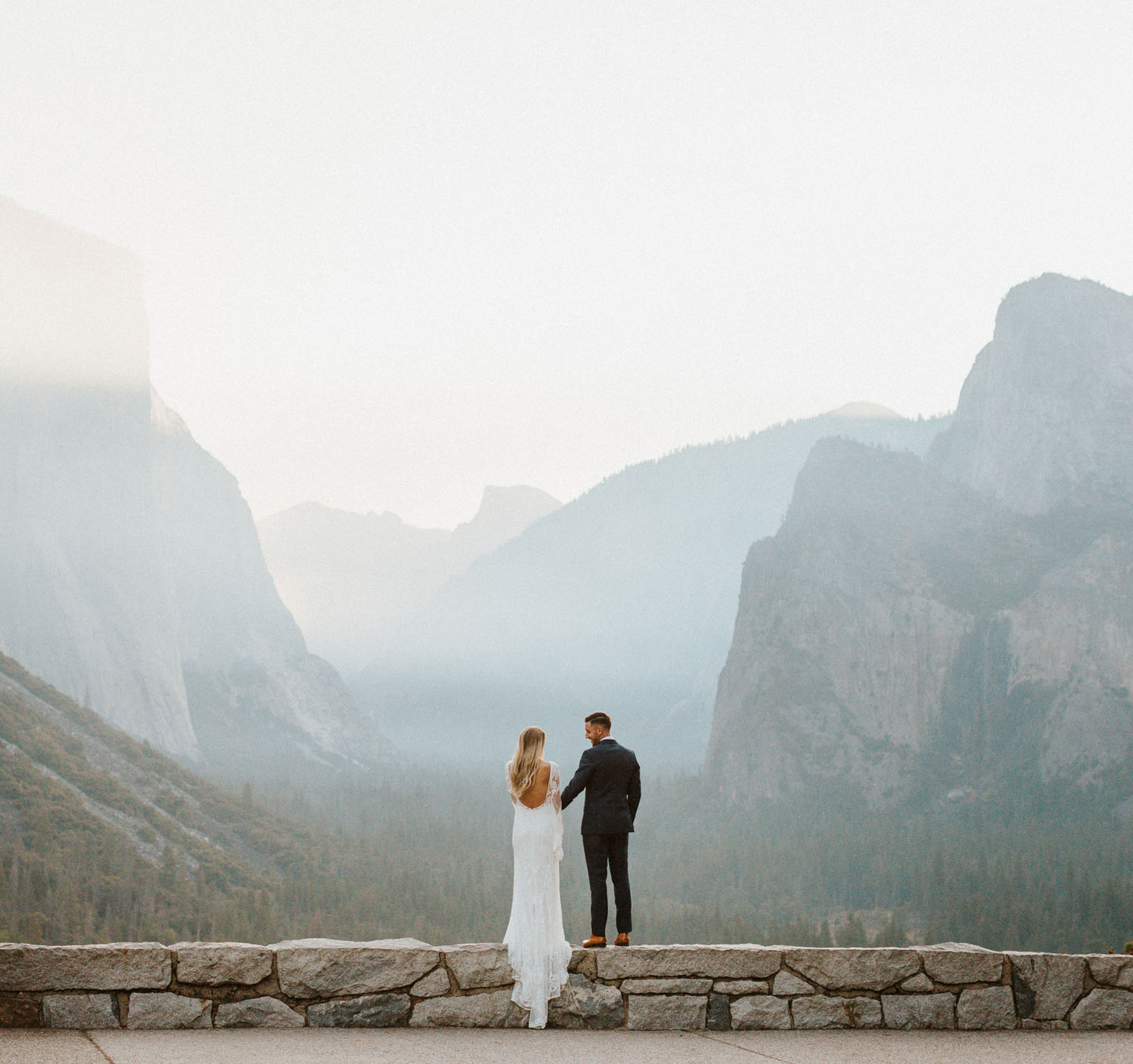 This Couple Had Yosemite To Themselves For Their Misty, Fall Elopement!