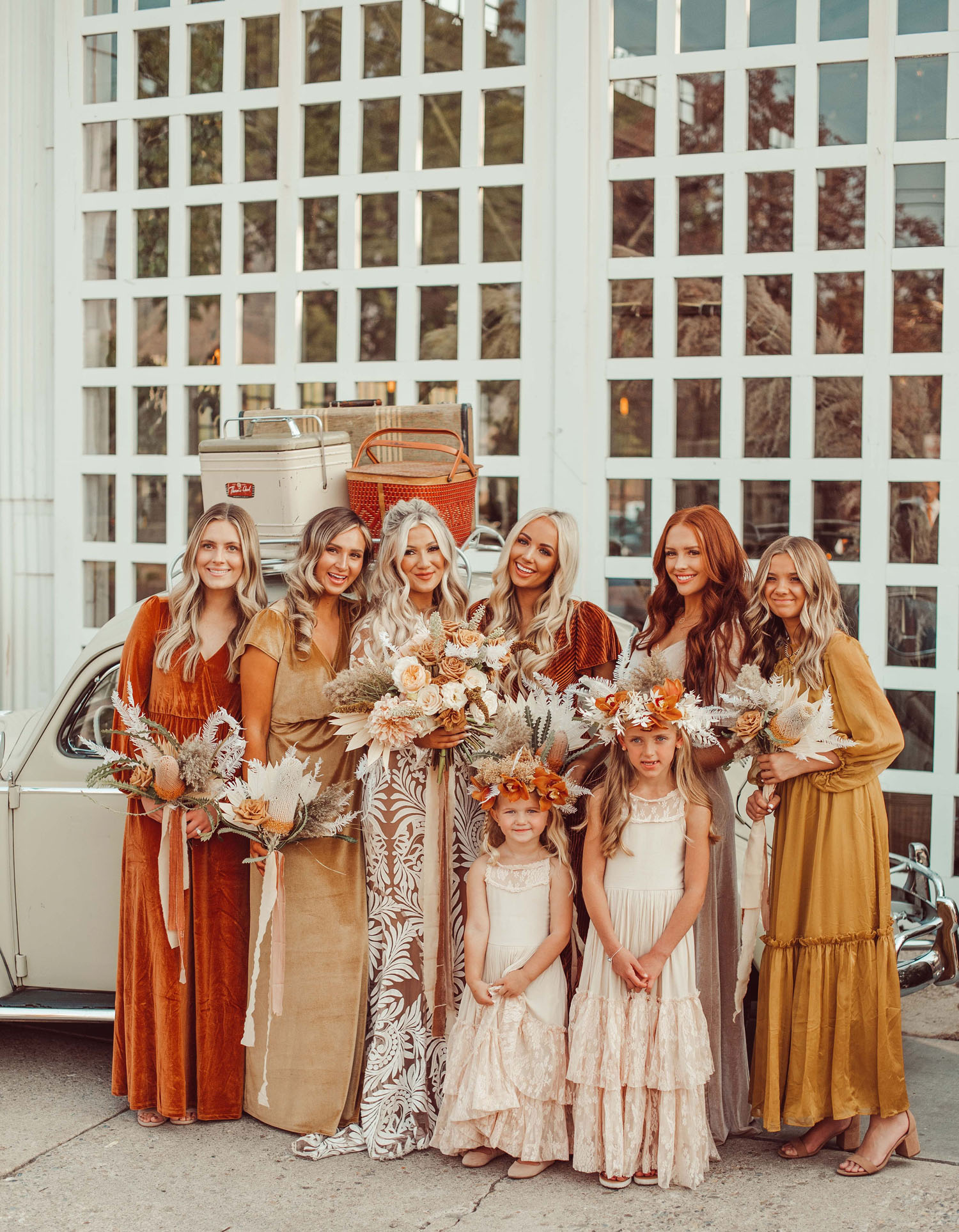 Terracotta Bridesmaids Dresses