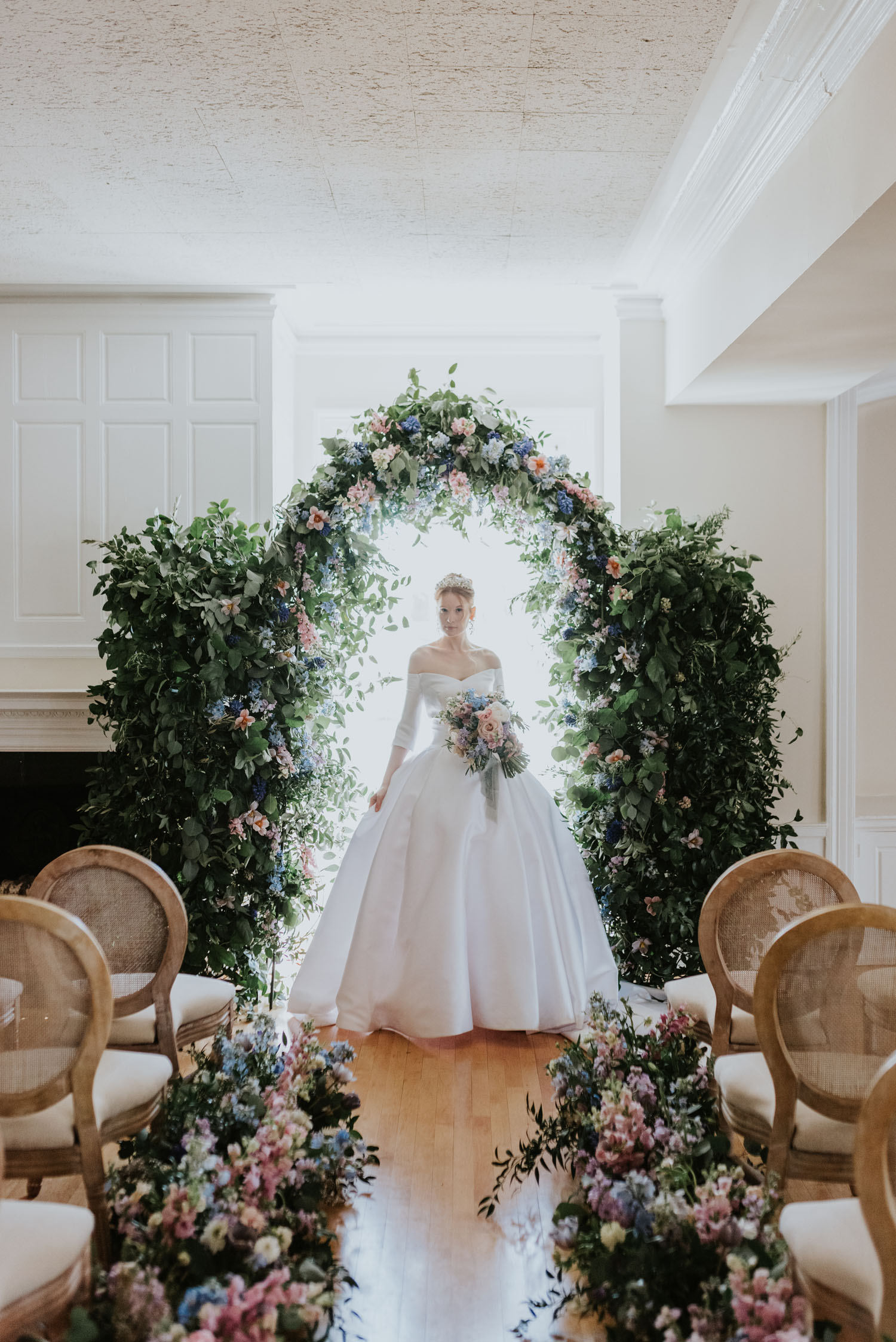 Bridgerton wedding dress