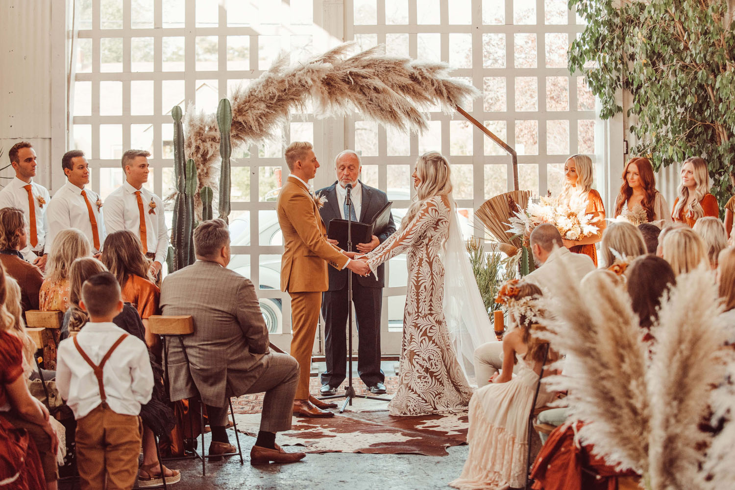 Boho Desert-Inspired Wedding
