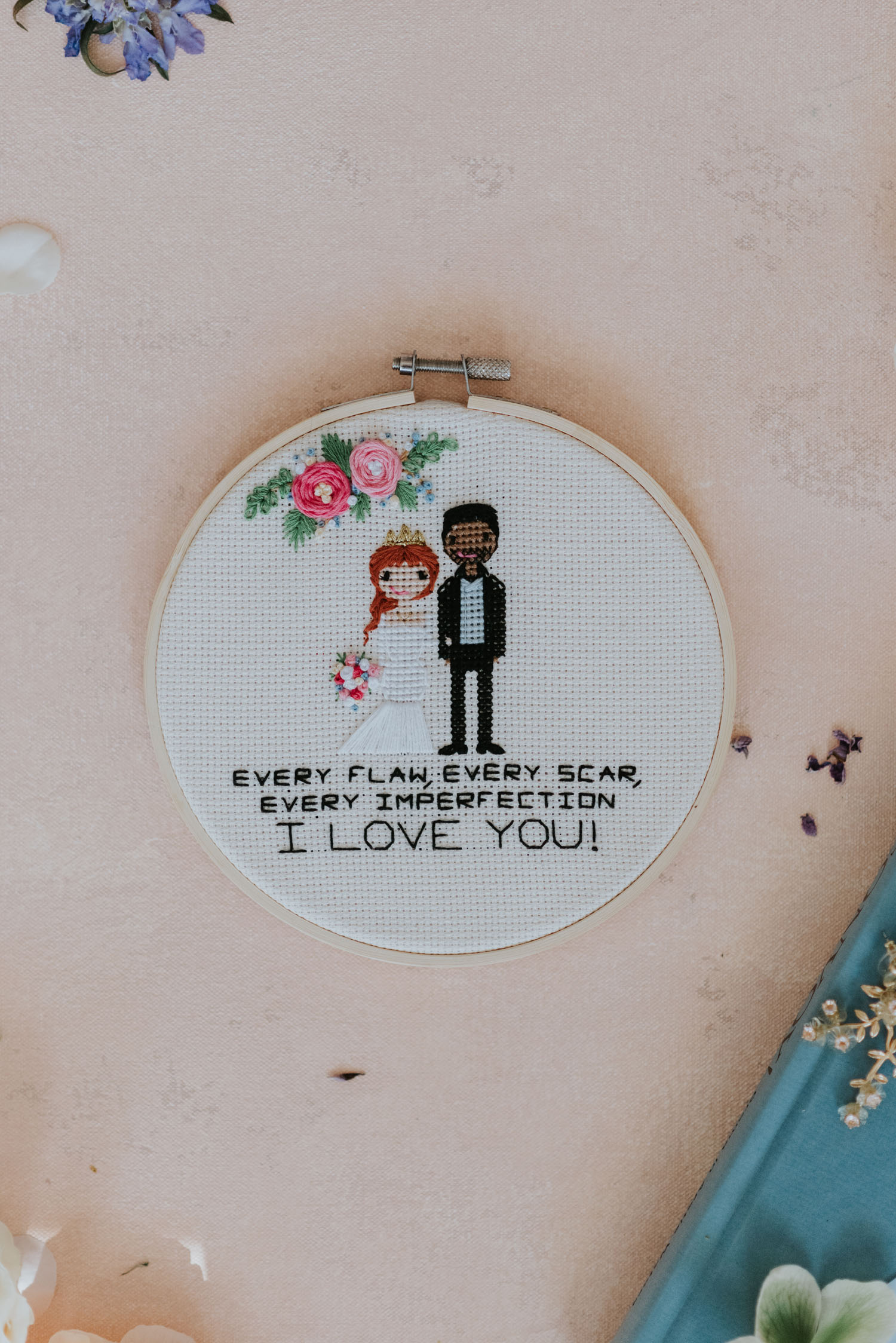 Wedding embroidery