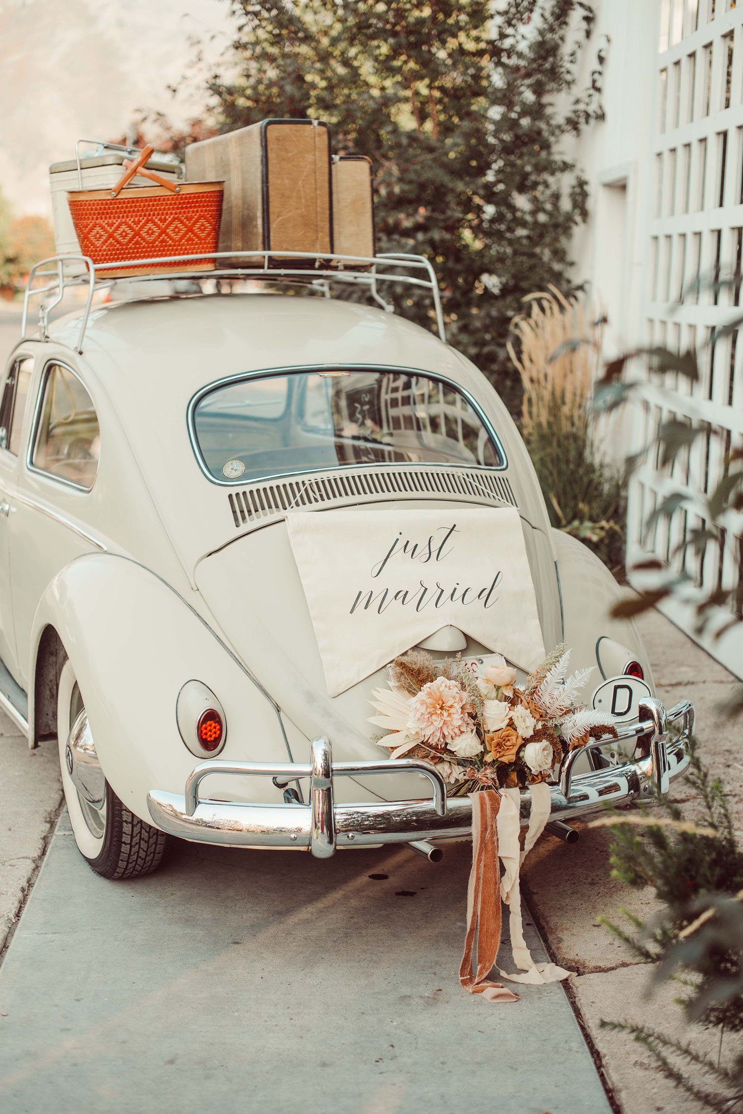 Just Married VW Bug