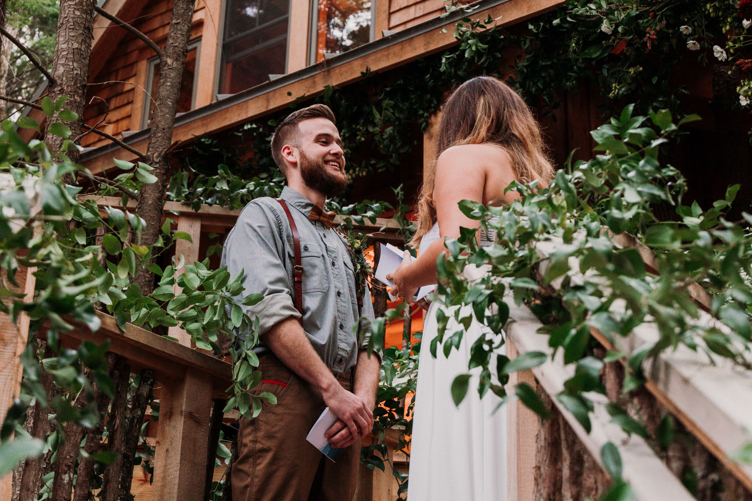 Maine Treehouse Elopement