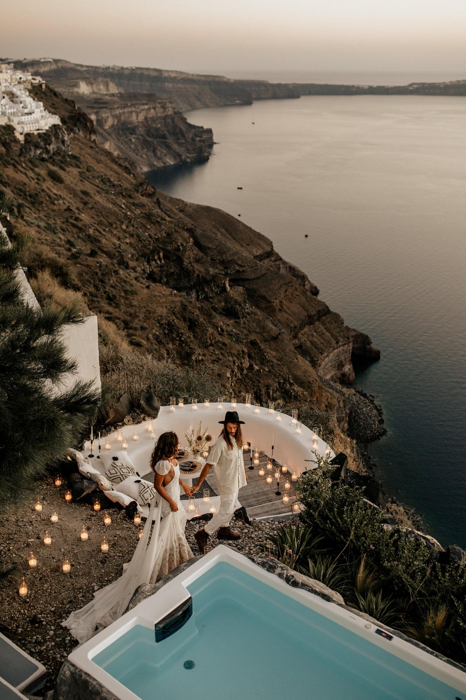Santorni wedding