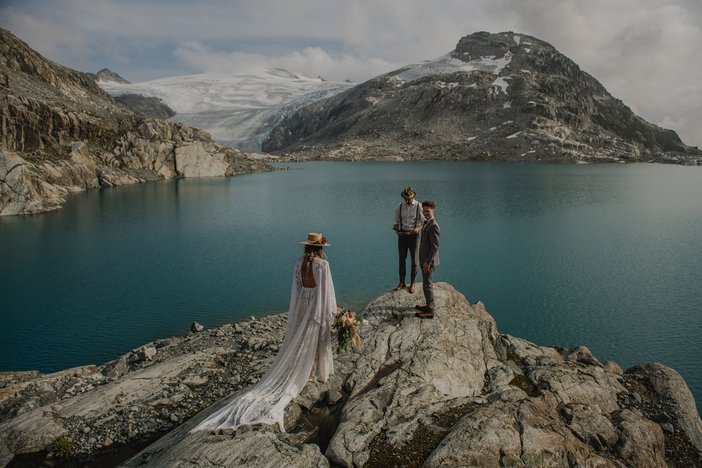 Secret Elopement in Canadian Mountains