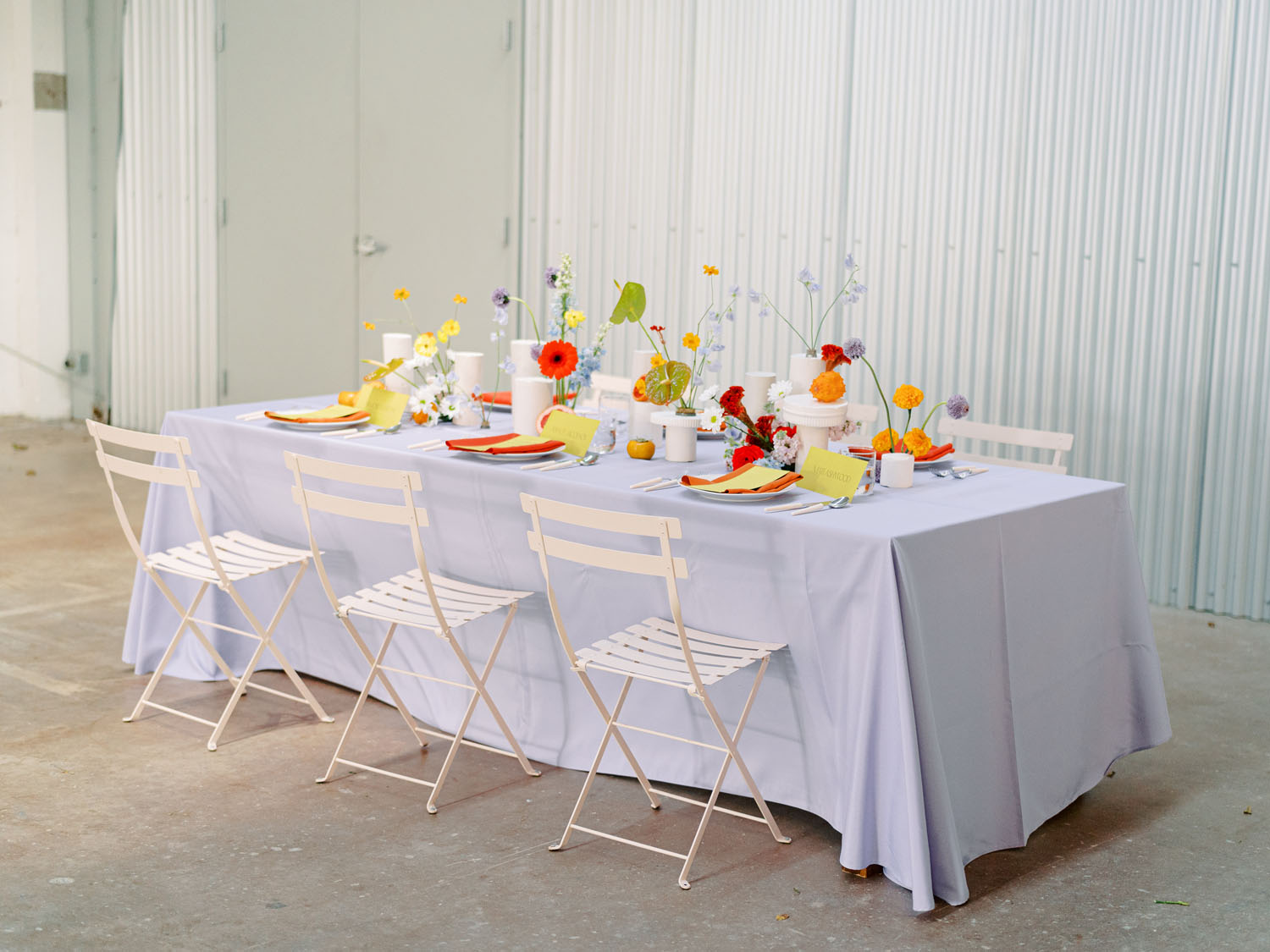 Pop of Color Wedding Inspiration