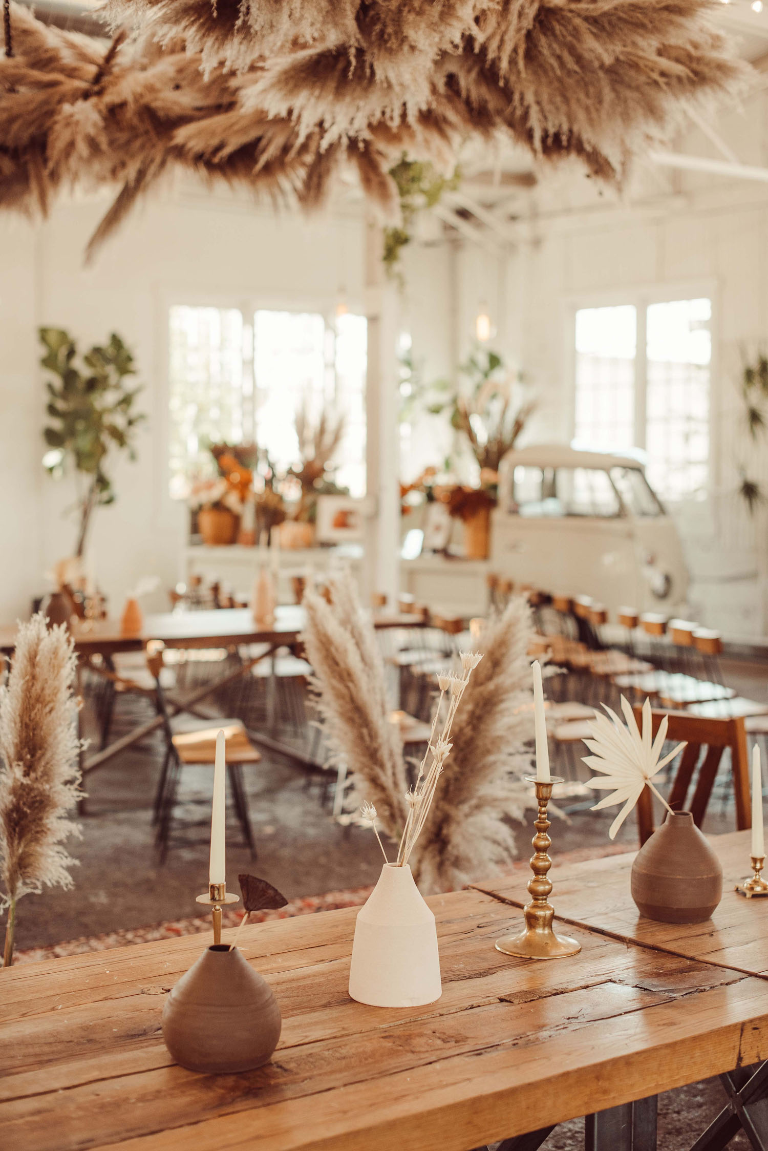 Boho Desert-Inspired Wedding Reception