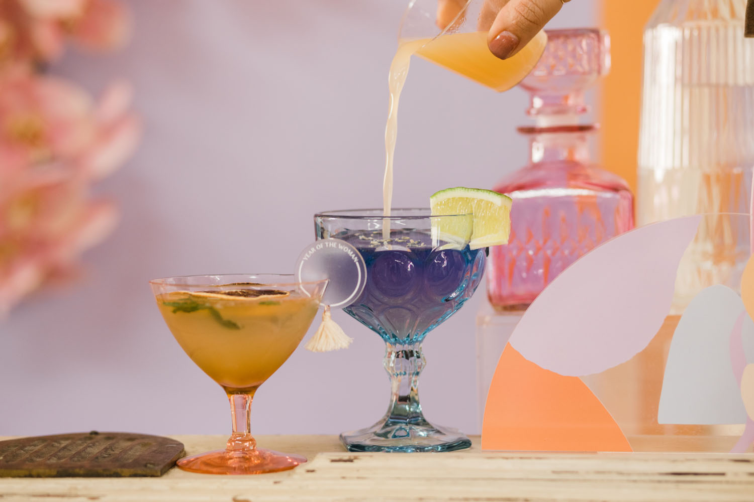 color changing cocktail
