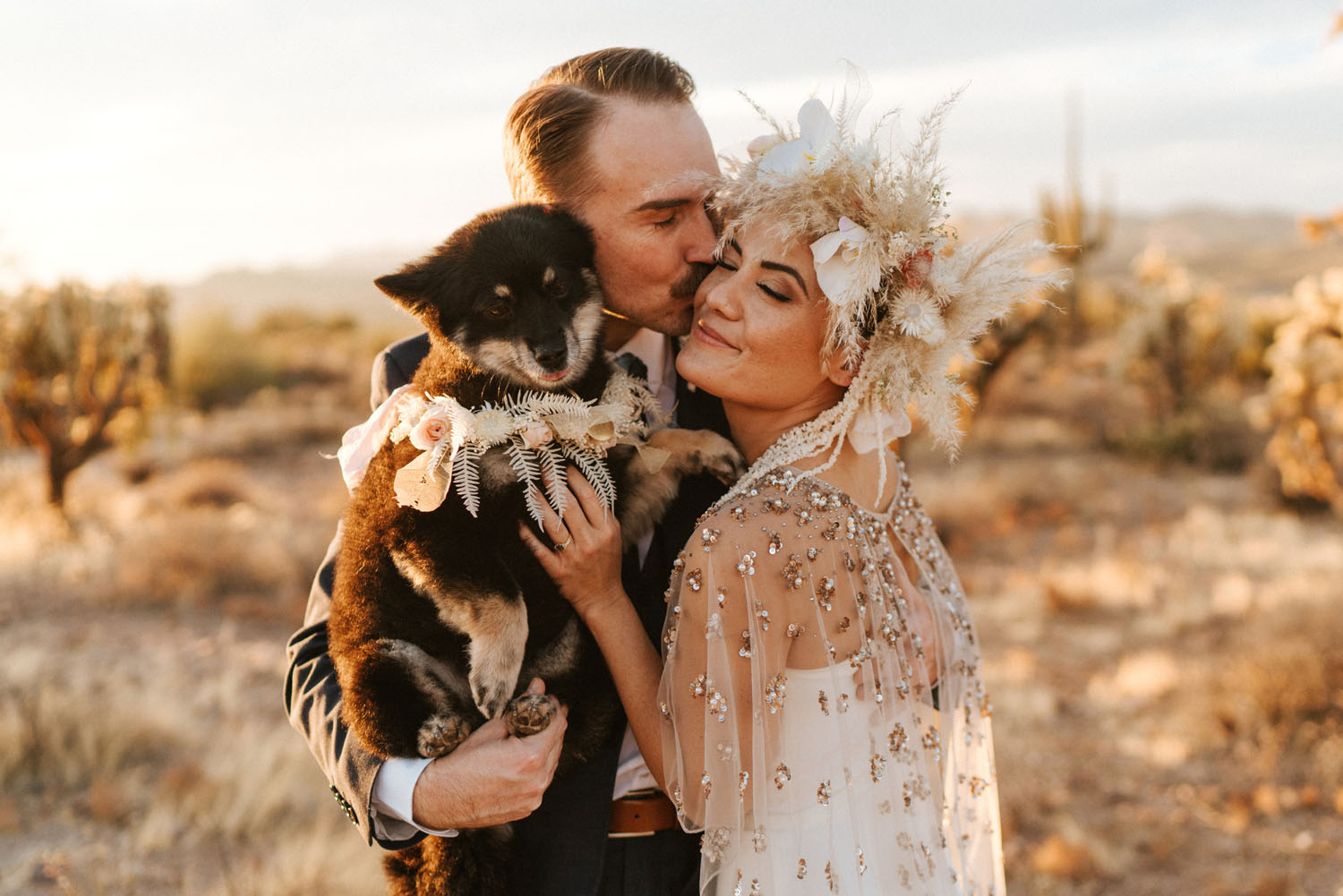 Superstition mountains elopement