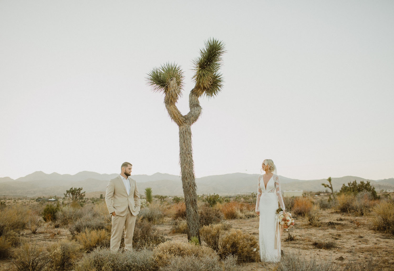 Moho Wedding in Joshua tree