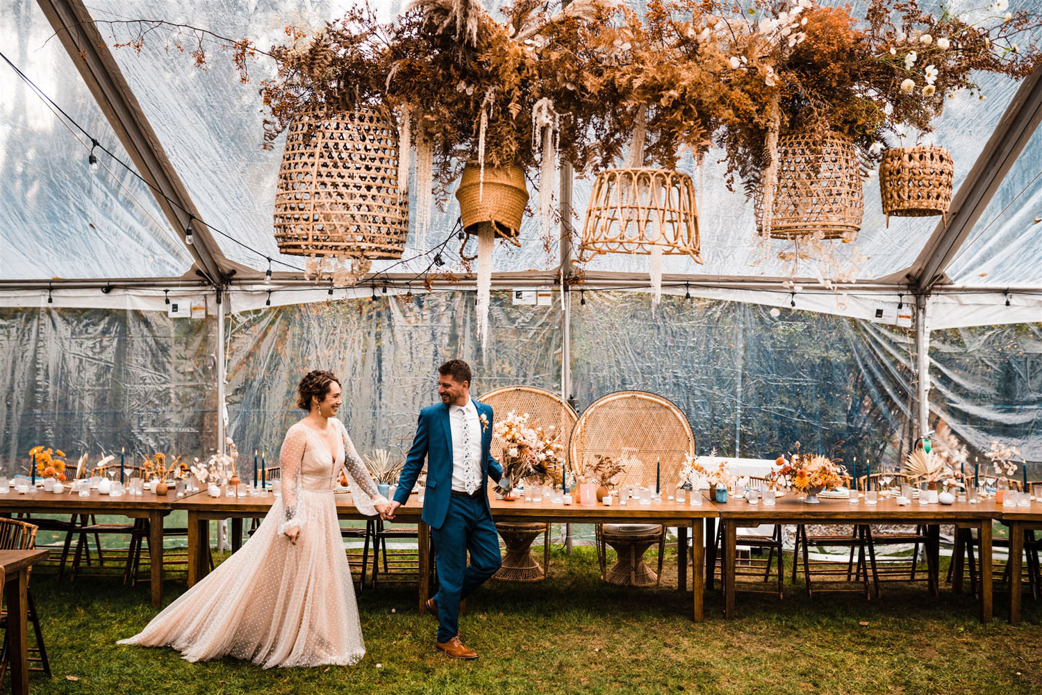 Intimate Backyard Wedding in Washington
