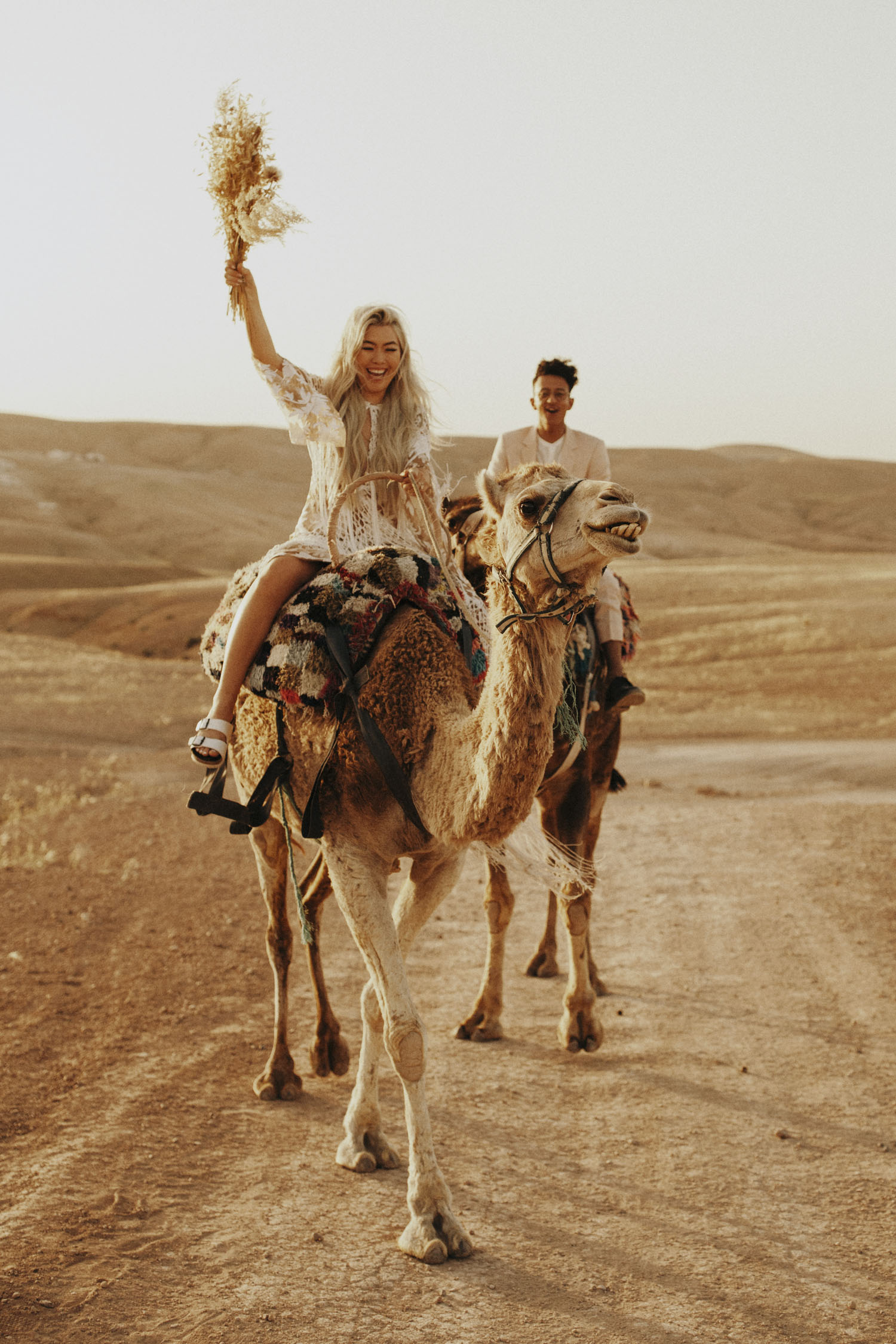 Intimate Moroccan Wedding on Camels