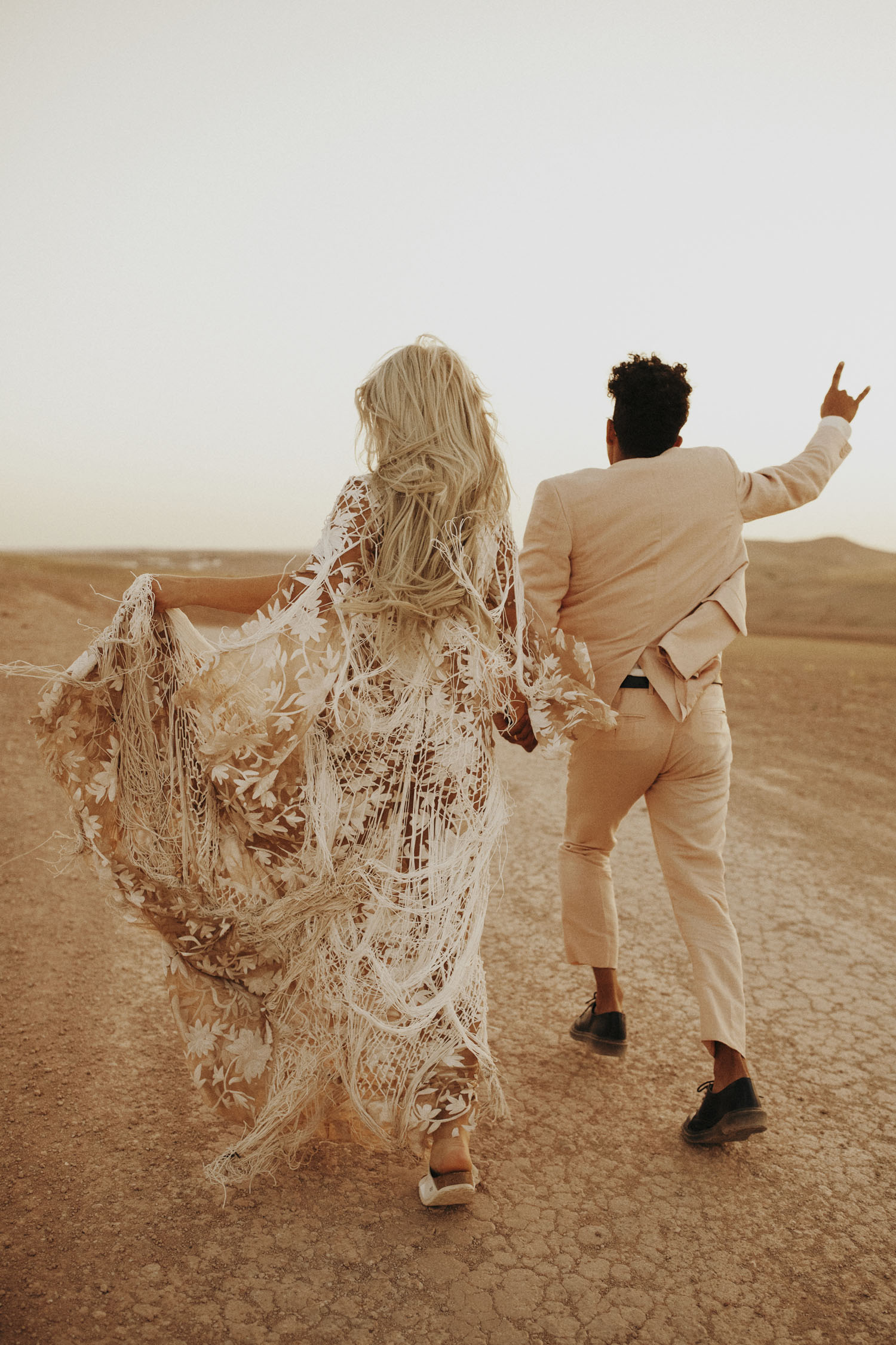 Intimate Moroccan Wedding