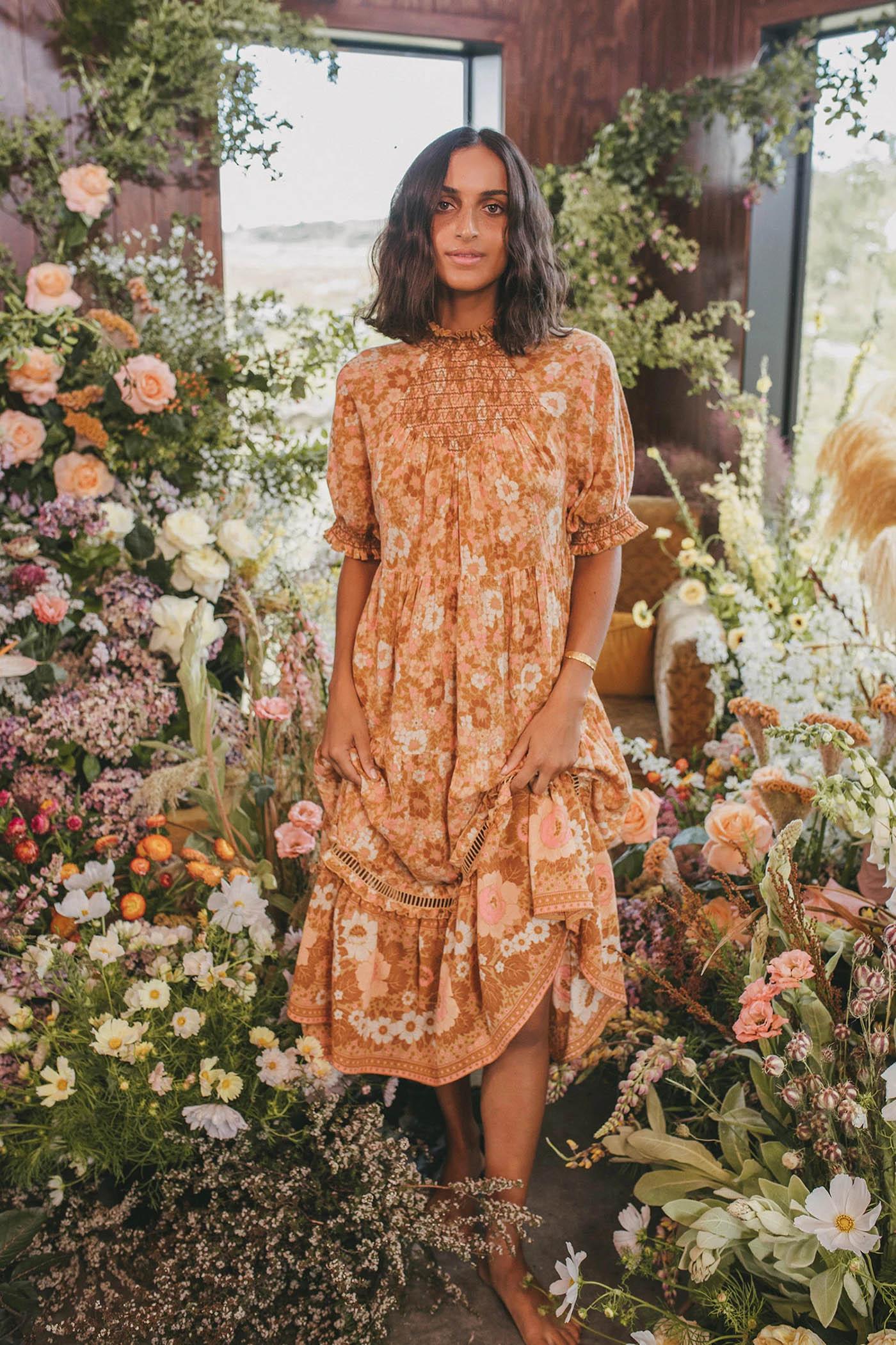 boho spring dress from Spell