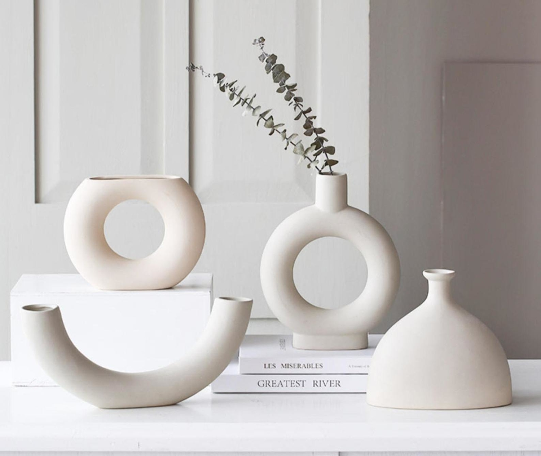 minimalist vases from etsy