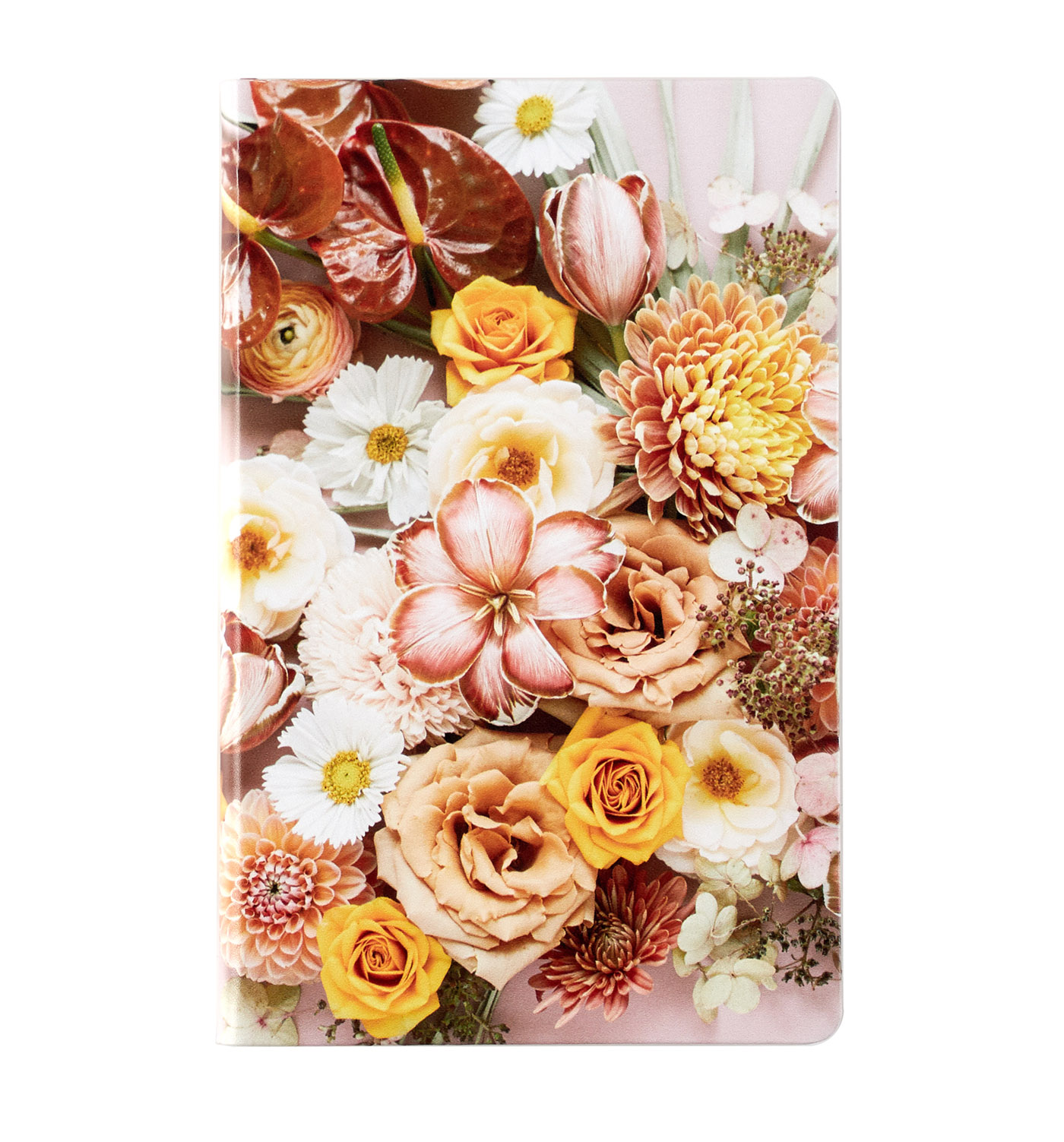 flower softbound notebook