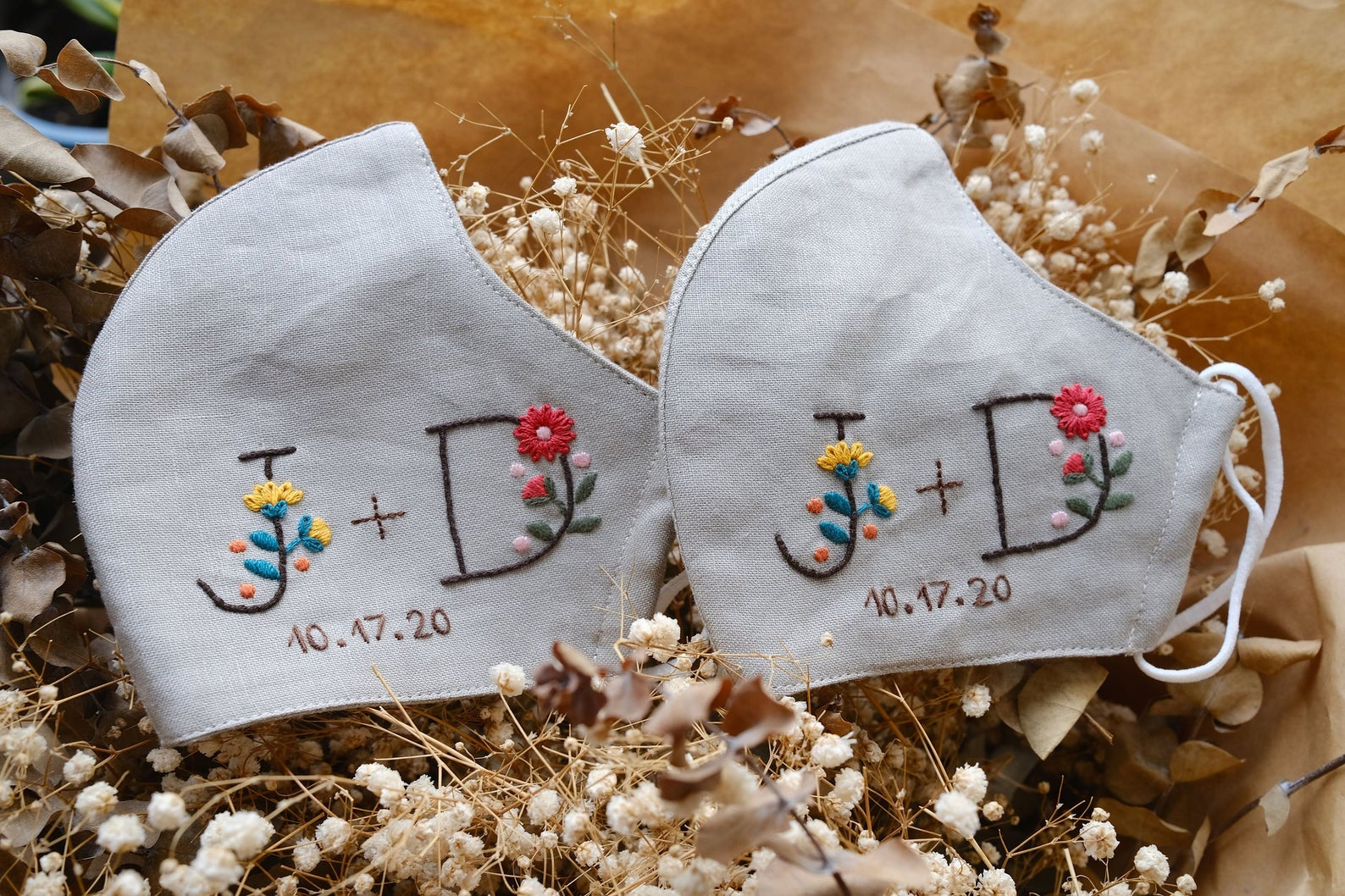 face mask wedding favors
