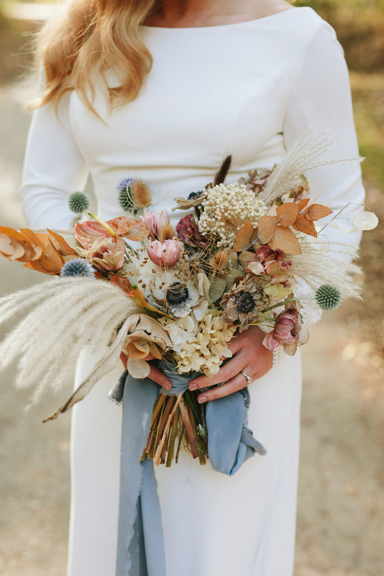 Fall Dried Floral Bouquet