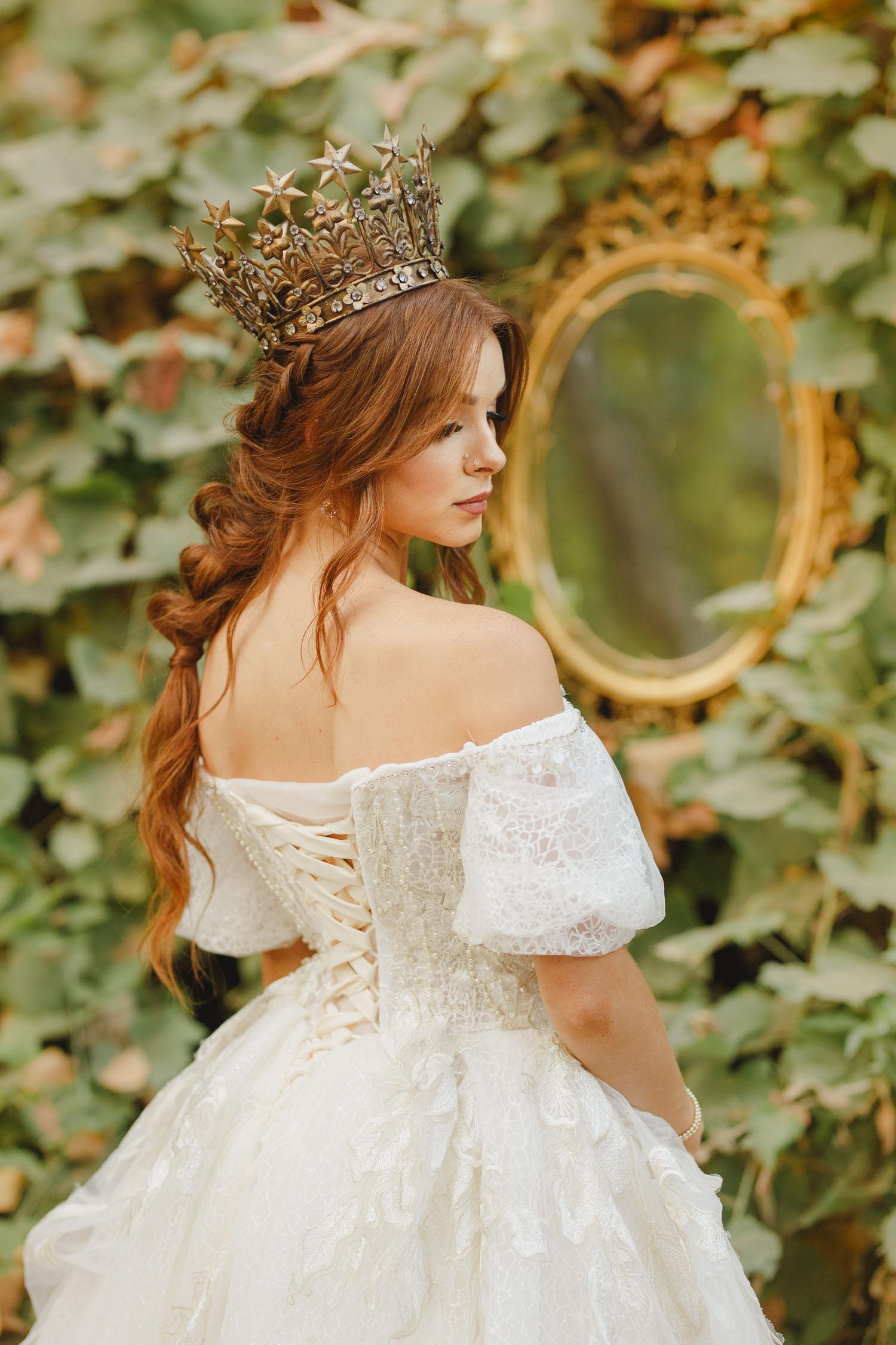 fairytale bridal crown