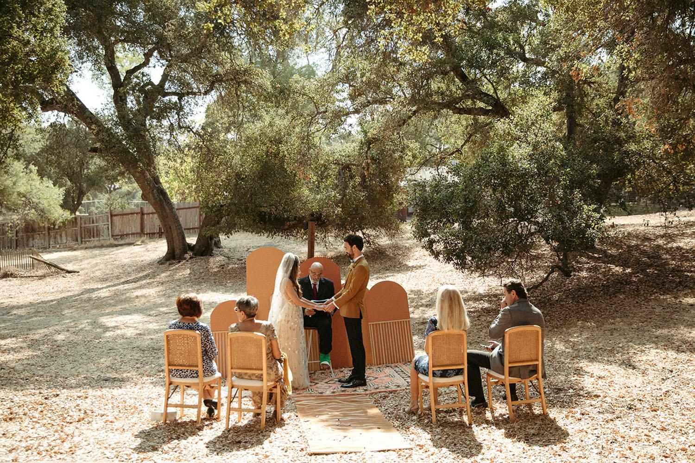 DIY Backyard Micro Wedding