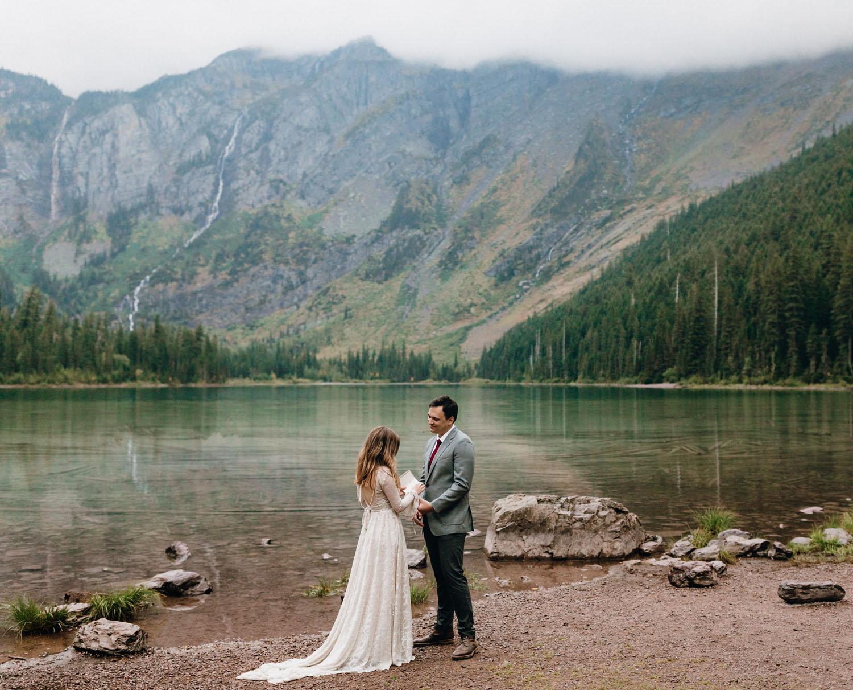 Montana Glacier National Park Elopement