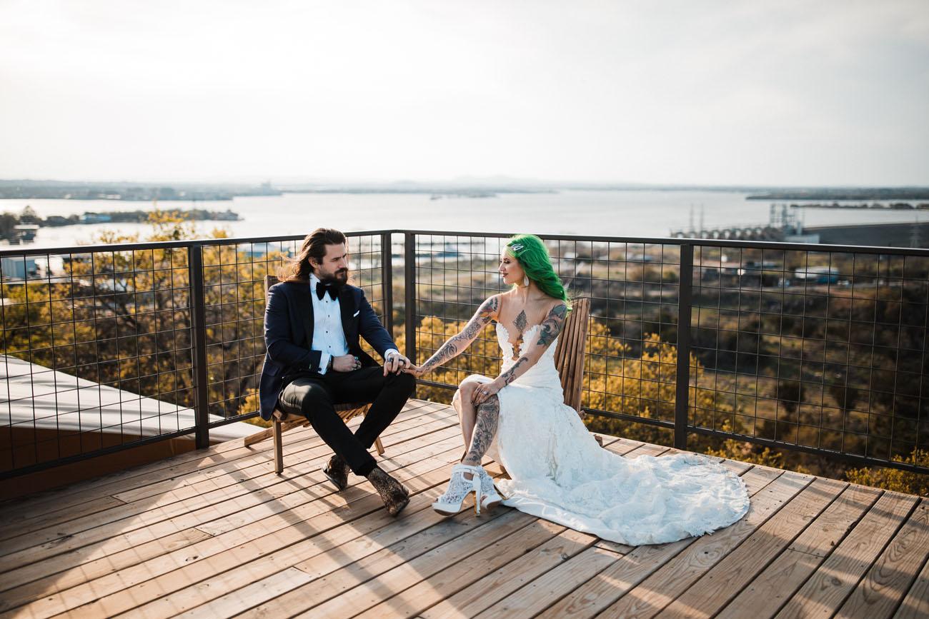 Glamping Dome Wedding Inspiration