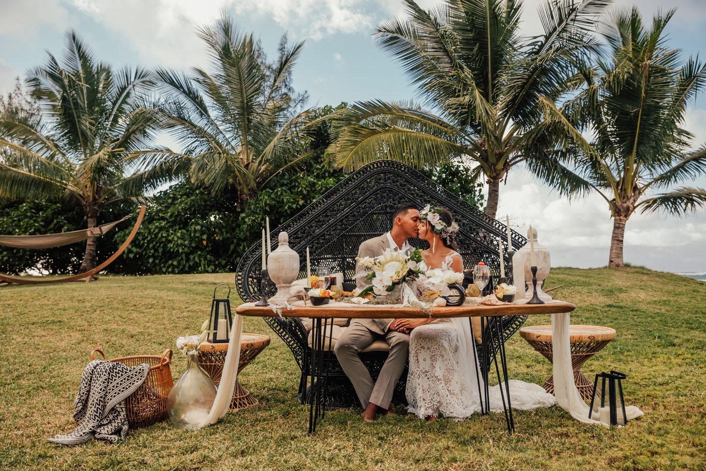 Tropical Boho Wedding Inspiration