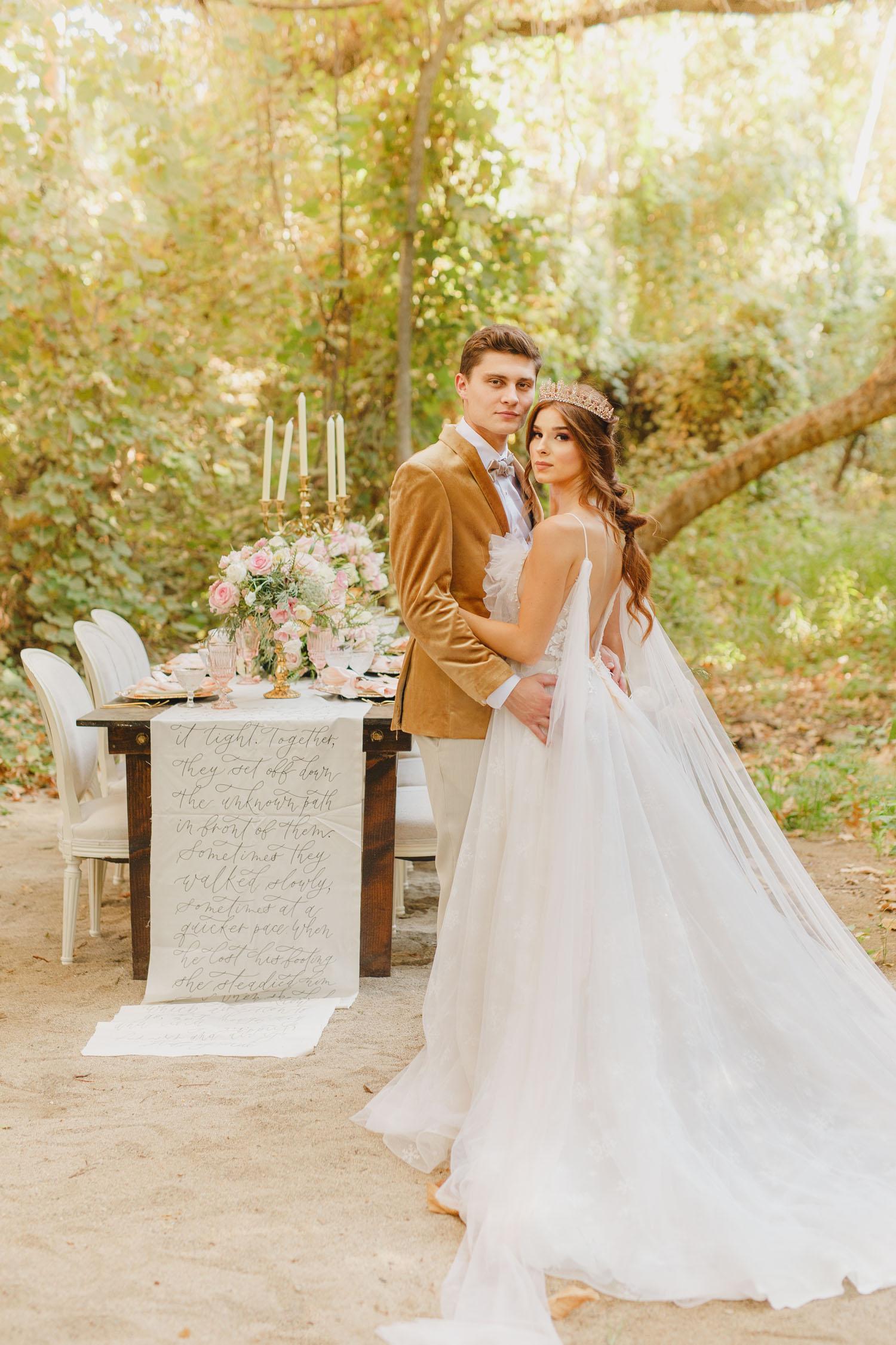 Luxury Fairytale Forest Wedding Inspiration