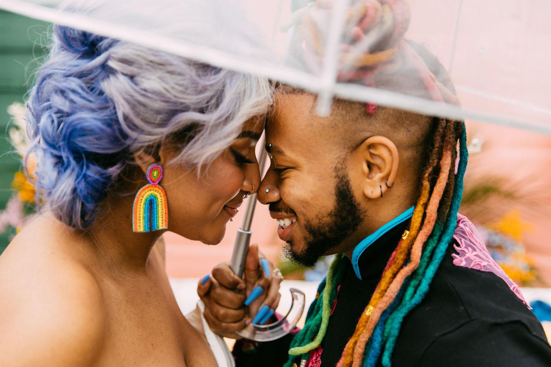 Rainbow Front Porch Wedding Inspiration