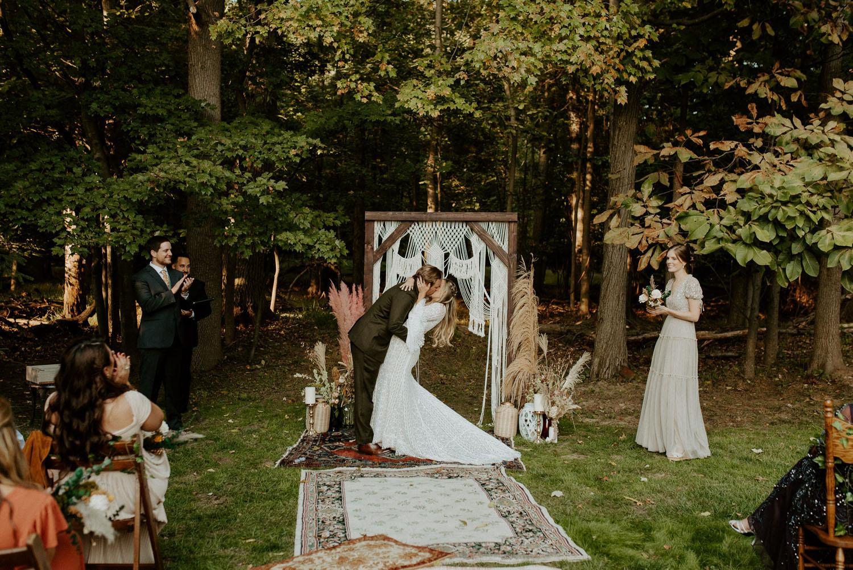 Vintage Backyard Wedding