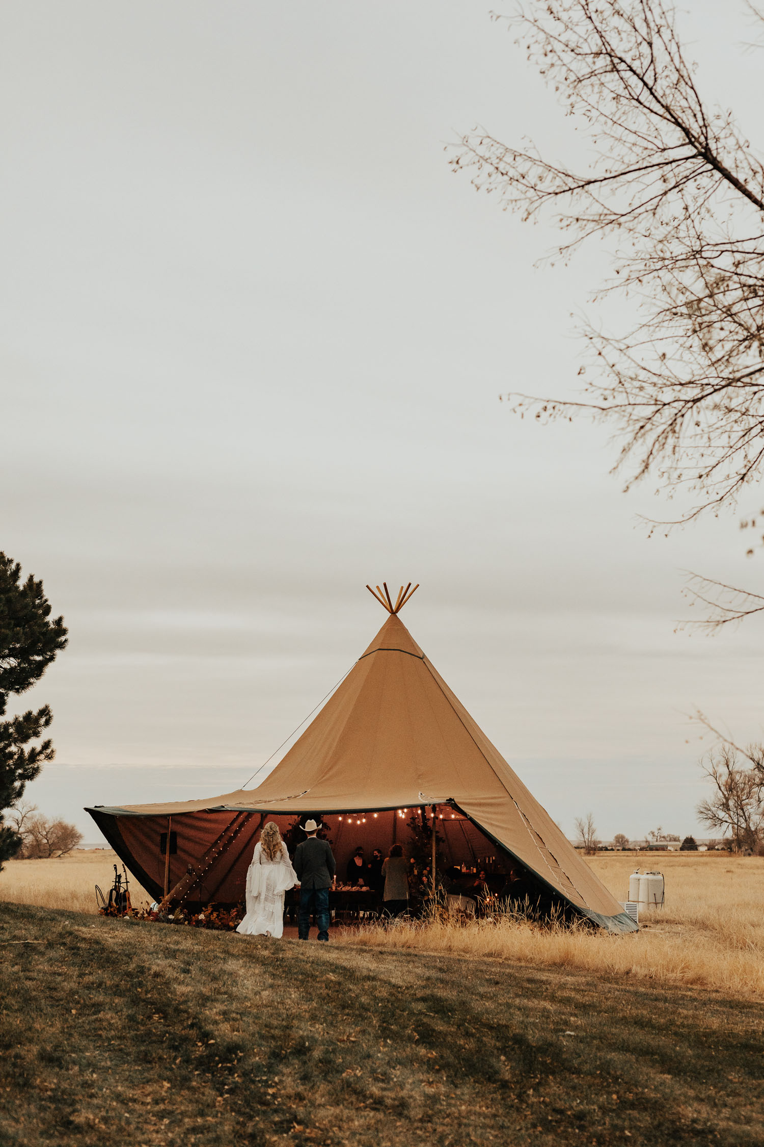 nordic tent for wedding reception