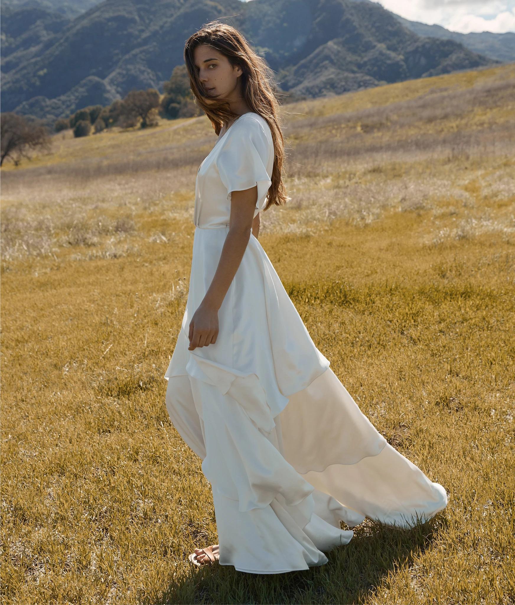 Athena Christy Dawn sustainable bridal