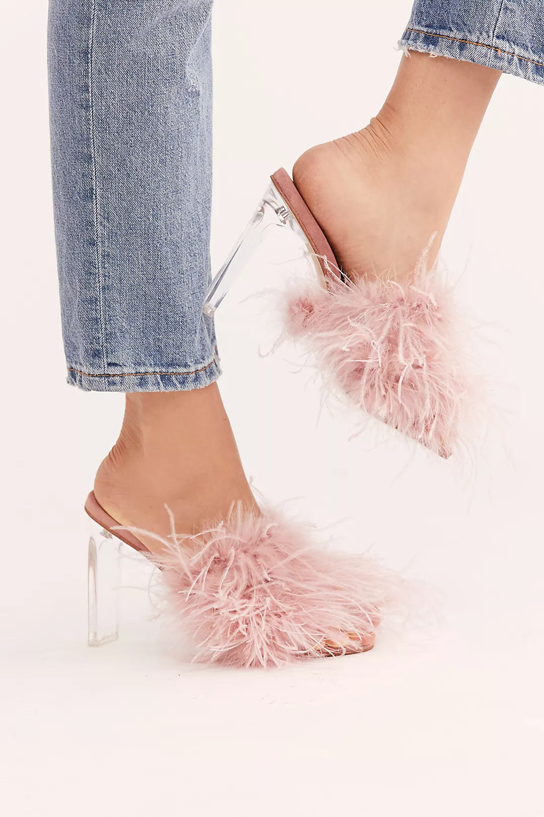 free people feather jeffrey campbell heels