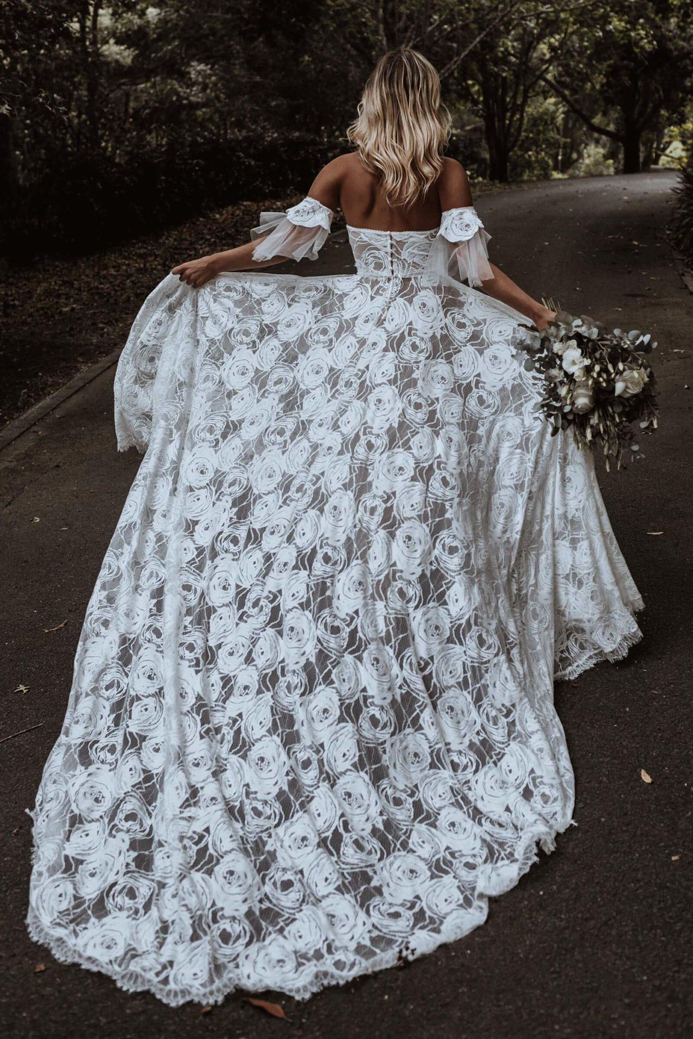 grace loves lace poppy wedding dress