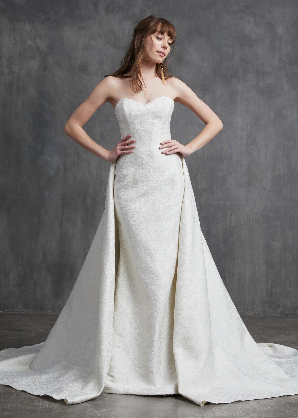 kelly faetanini monroe wedding dress
