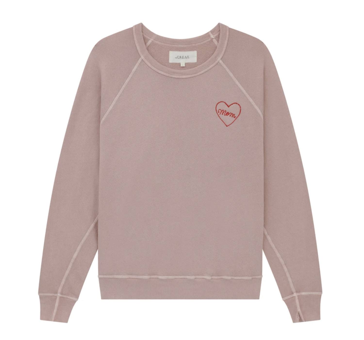 THE LIMITED EDITION MOM EMBROIDERED SWEATSHIRT