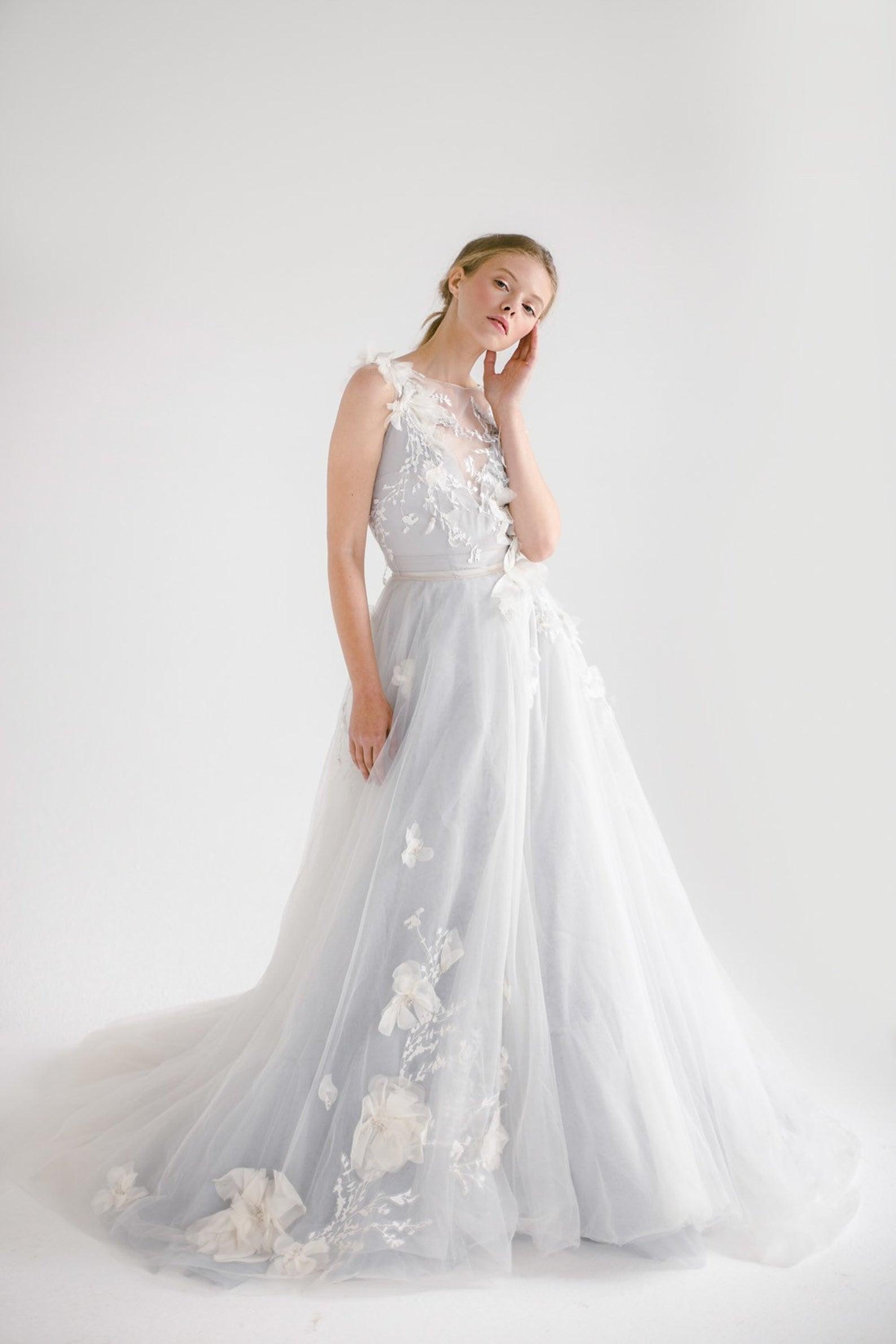 mywony bridal whimsical wedding dress