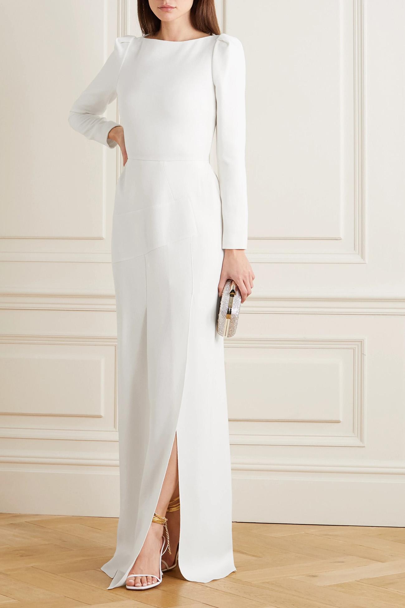 net a porter wedding dress roland