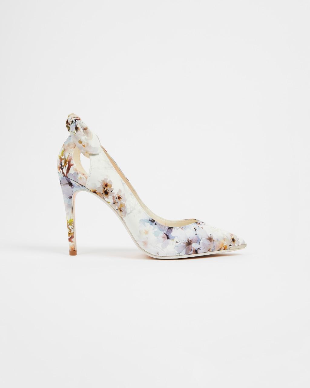 ted baker floral wedding shoe