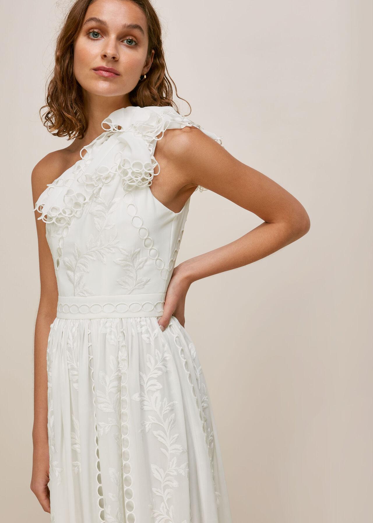 whistles adelaide wedding dress ivory