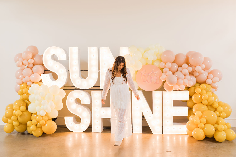 Chasing Sunshine Baby Shower