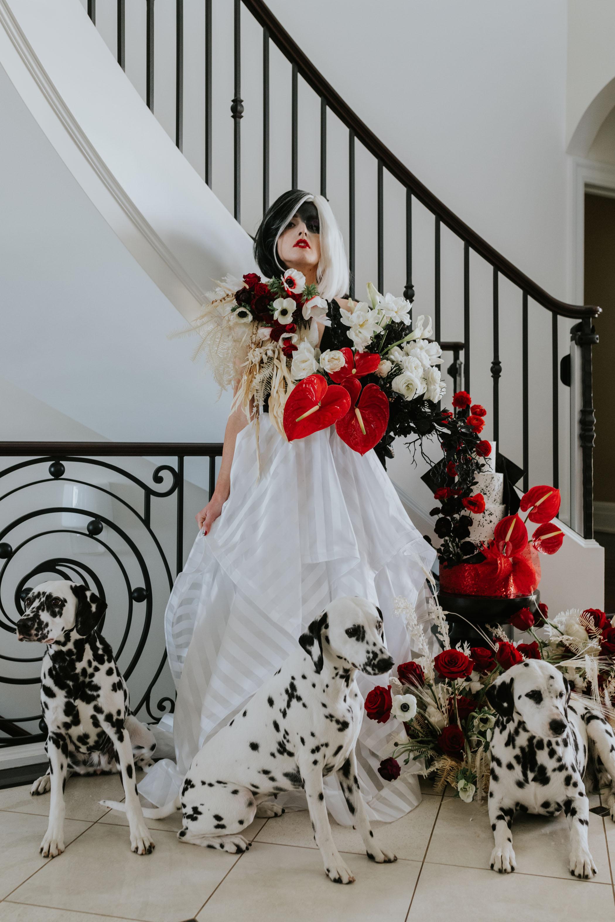 Cruella Wedding Inspiration