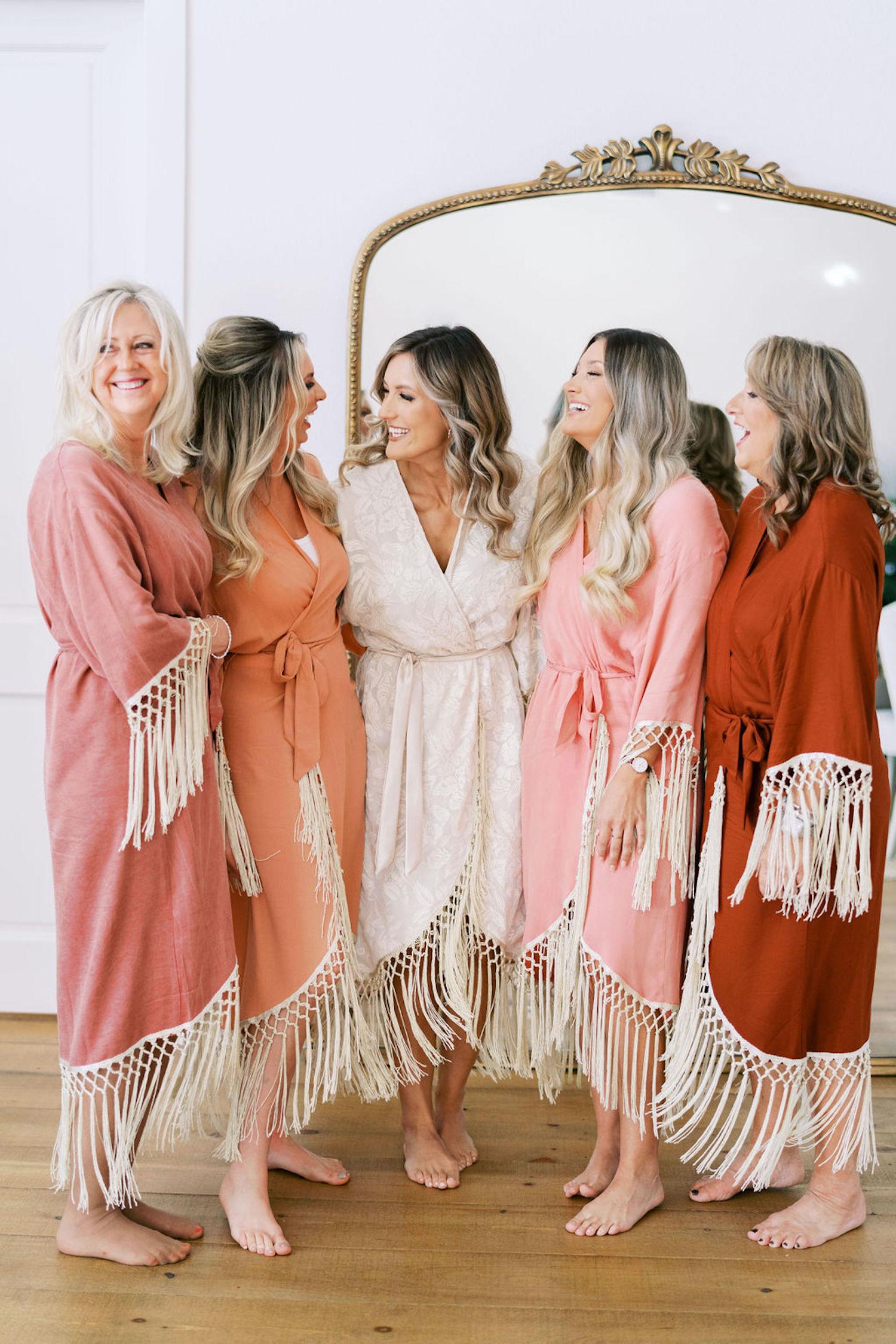 fringe robes
