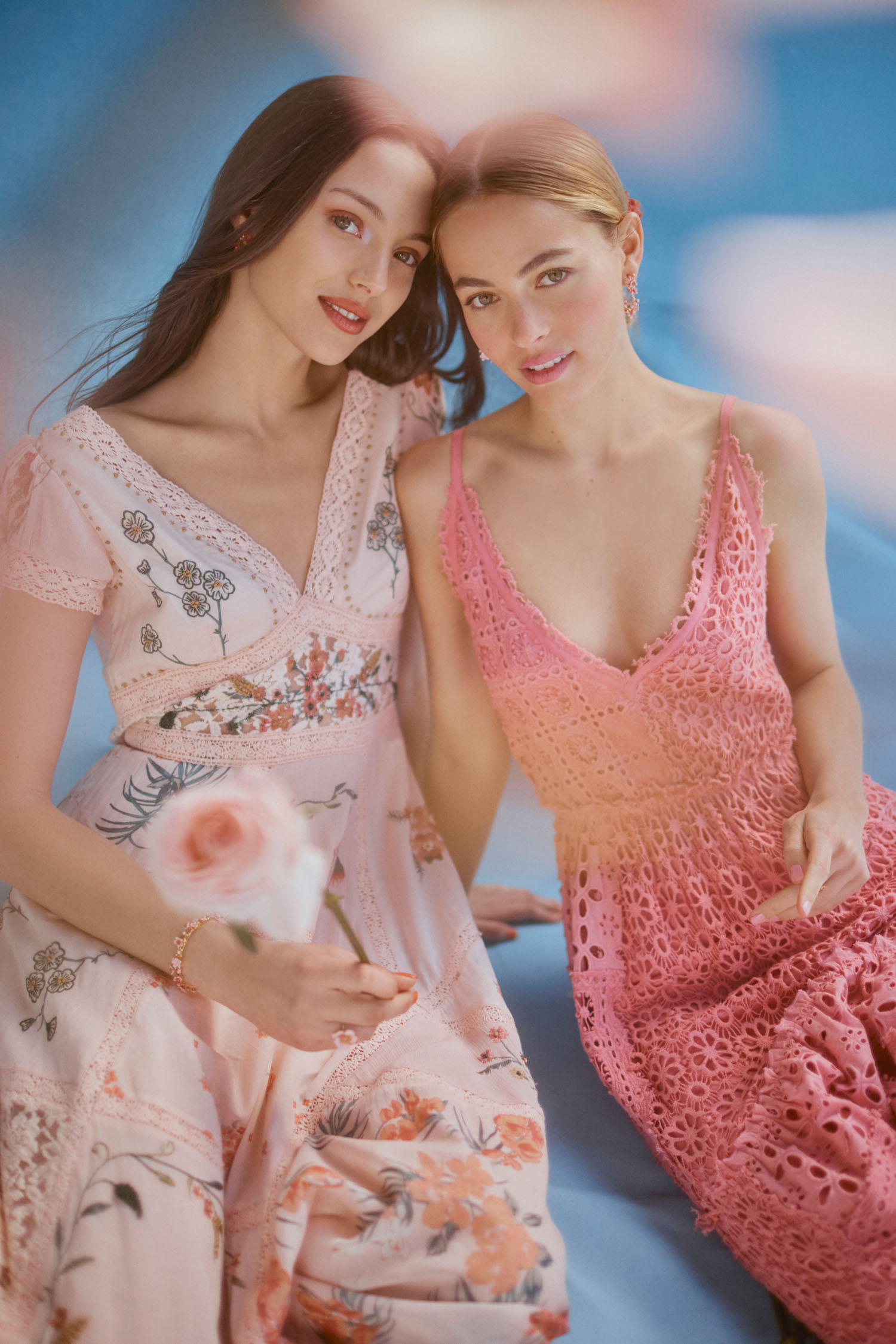 BHLDN x Free People Capsule Collection pink bridesmaids